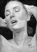 Kate Winslet Sexy Drawing by riefra