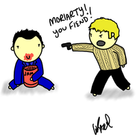 What if Moriarty ate all of Jawn's jam? by ExtremlySelfishChild