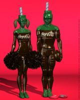 American Football, Coca-Cola by DevilishlyCreative