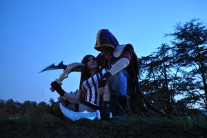 Katarina red card and talon renegade cosplay lol by ValeeraHime