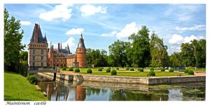 maintenon castle by bracketting94