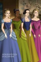 Disney Princesses by KaitoShionSexiness