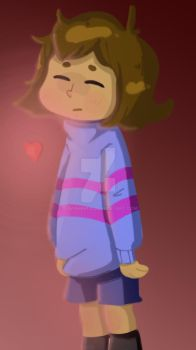 Frisk (Undertale) by DovahKriid