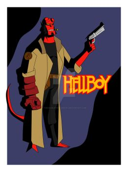 Agents of the B.P.R.D.: Hellboy by TheScarletMercenary