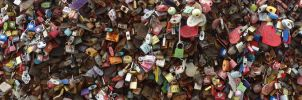 Wall of Locks by Ryuuzaki-L-spy-19