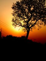 Sunset in Ghana by futuresmiles