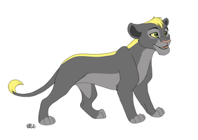 Lioness for Spywestie by WindWo1f
