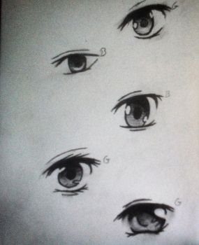 eyes by MashiroHaru