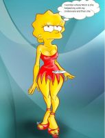 giantess simpsons by gonzo110393