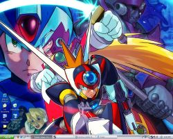 Megaman X7 by Tzade