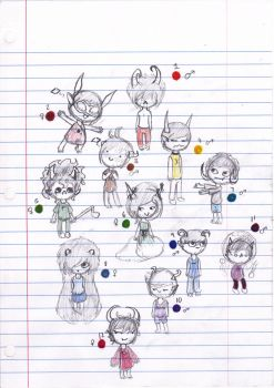 Fantroll Adopts :D [CLOSED] by ZombieHighSchoolKid