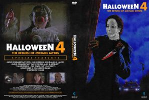 Halloween 4: The Return of Michael Myers (DVD) by LeviBoldock