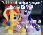 Not Going to Bronycon - Beanie Kit Sale! by ButtercupBabyPPG