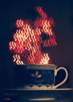 Evening Tea Time. by Lukreszja