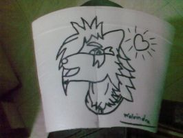 Foam glass. Finished by Master-wolf149