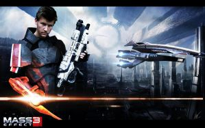 Mass Effect3 cosplay live action by CpCody