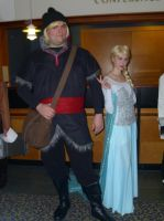 Elsa and Kristoff from Frozen at Setsucon2014 by ShizNat4EVER