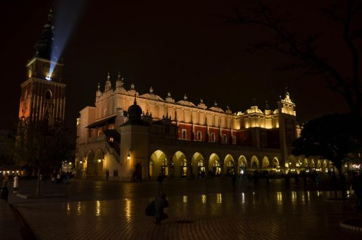 Cloth Hall on the Market Square, Krakow by Utgardar