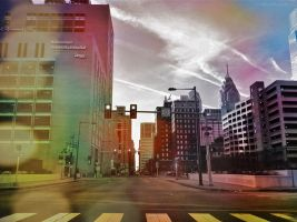 Early morning in the city Philly by boldsoul