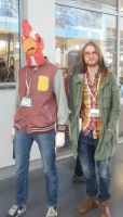 Hotline Miami 2 Jacket/Richard and Beard COSPLAY by Maroventolo