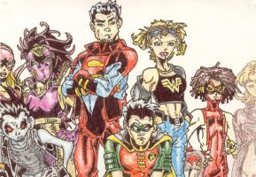 Young Justice 40 by bastichslobo