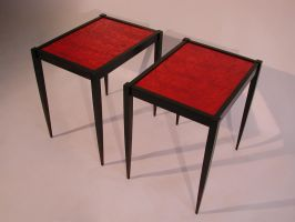 two small tables by sharp-chisel