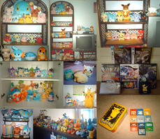 POKEMON COLLECTION 2008 by drill-tail