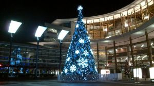 Christmas tree at Surrey Central Mall 2 by mc1964