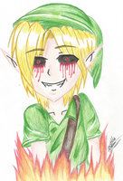Ben Drowned by ladycastilla