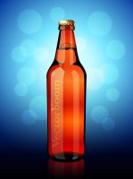 Beer Bottle by lazunov