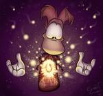 Rayman's Inner Light by EarthGwee