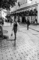 Streets of Cardiff by daliscar
