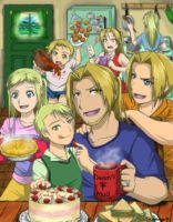 FMA- Father's Day by amburger91
