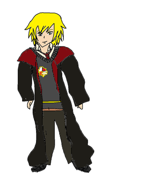 Harry potter OC: George Heartcliff by Nero-the-ouroboros