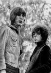 Roger Waters and Syd Barret by Sabdi