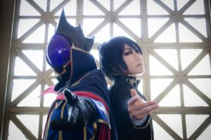 Geass - Behind the Mask by kitsunesqueak