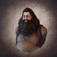 Rubeus Hagrid sculpt by Furipon