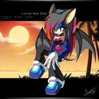 .-Luna the Bat-. by Chibi-Nuffie