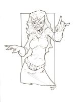 Jean Grey High Res Inks by rantz