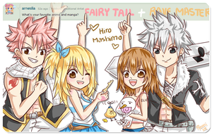 Answer (1)- Fairy Tail and Rave Master! by Pyonni