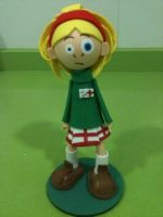 Laverne Foam Rubber Figure by anapeig