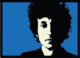 Bob Dylan by crowlover13