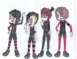 MCR in old style by rOcKgR33n