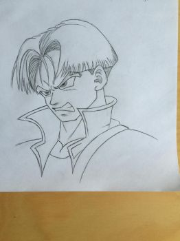 Future Trunks by Mohab-ossama