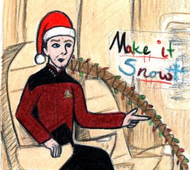 Picard: Make it Snow by harrimaniac27