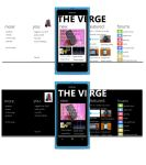 The Verge Windows Phone 7 app by WP7User
