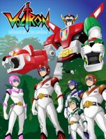 Voltron by gyrfalcon65