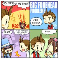 Big Forehead Problems by KataChan