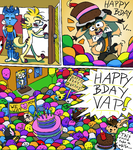 Vaps fans look like jellybeans by Ikarooz