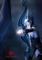 Drow Ranger by doneplay